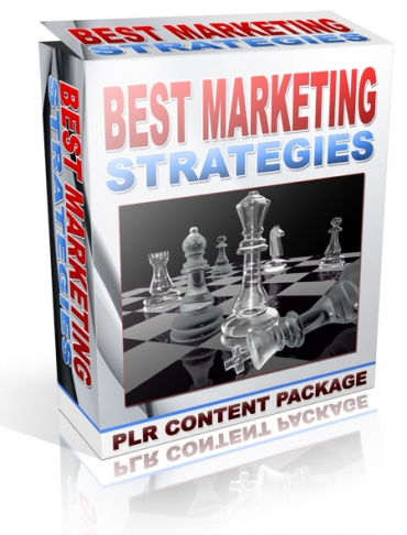 give Best Marketing Strategies PLR Articles