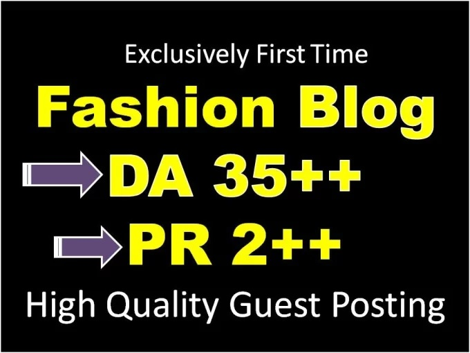 do Guest post on HQ PR1, DA35 Fashion blog