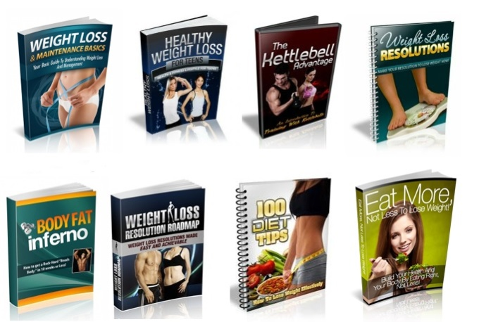 give you 100 MRR Weight loss ebooks