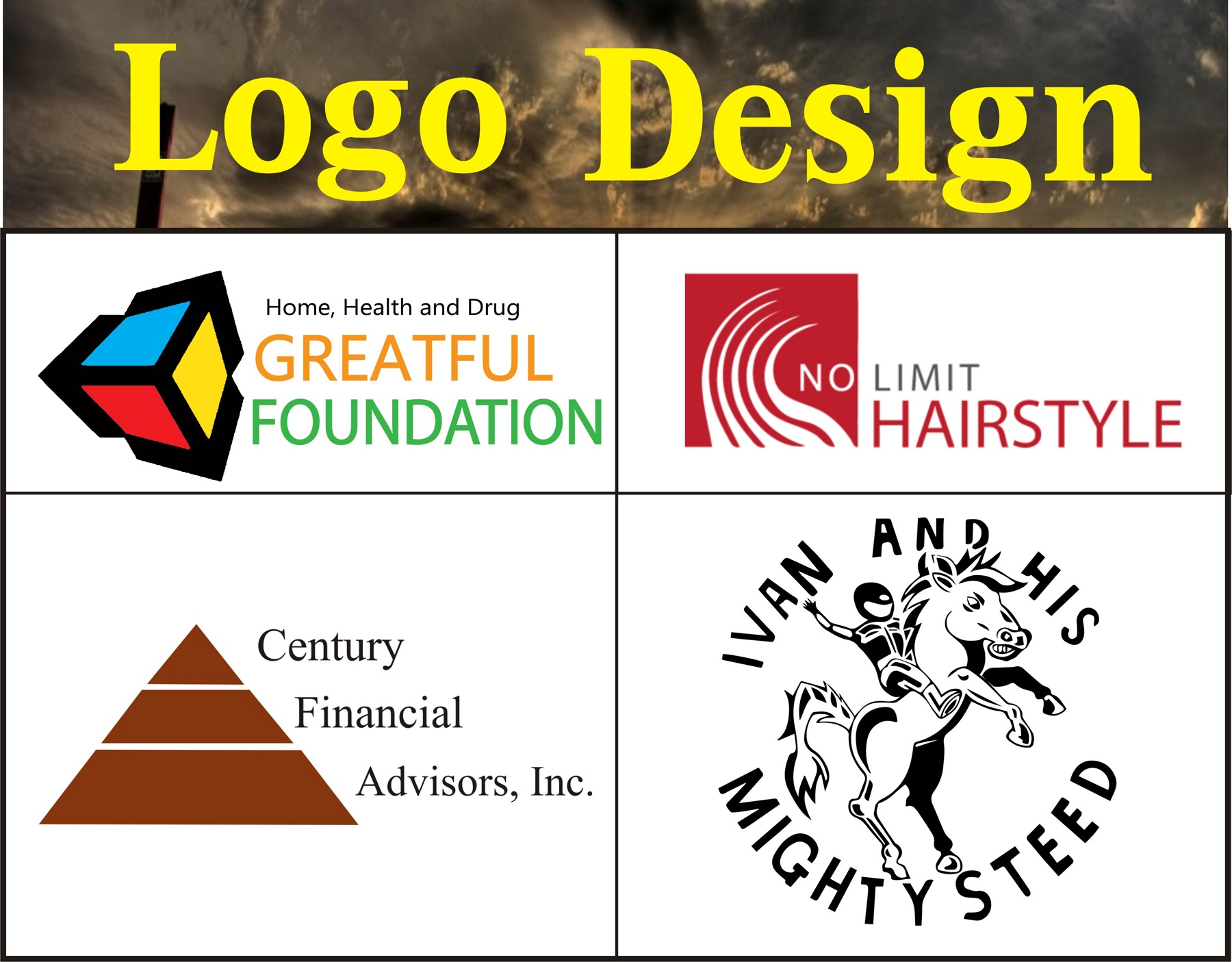 Design 3 Vector Logo with Unlimited Revision