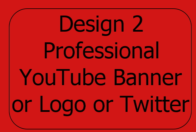 design 2 Professional logo for $5