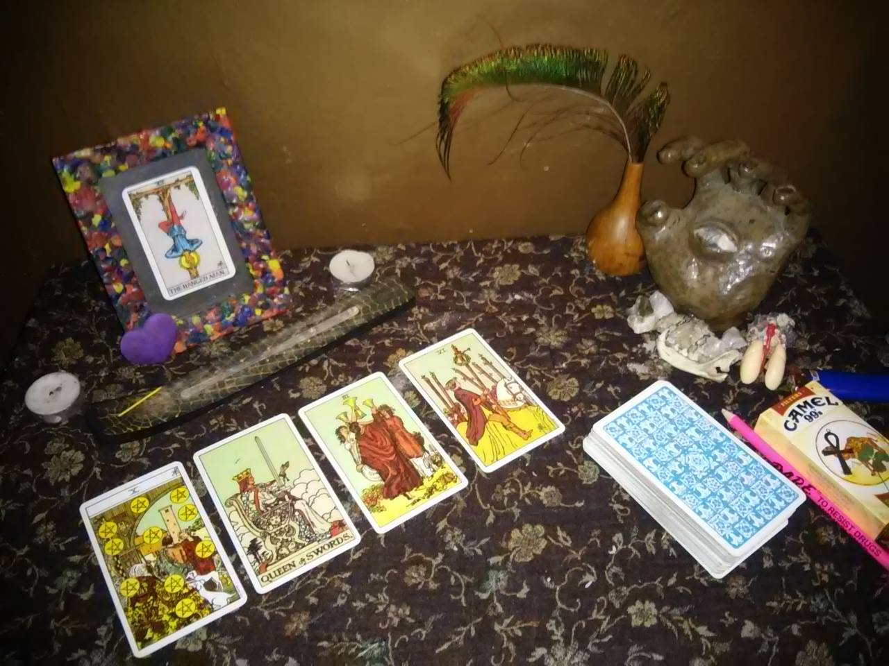 give you a tarot card reading