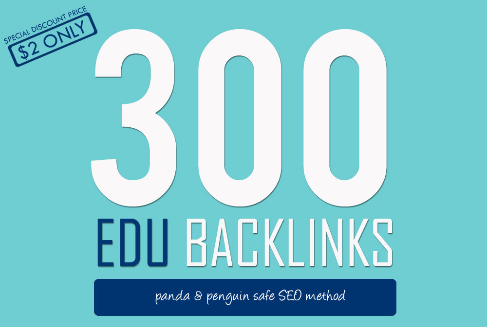 300 EDU backlinks , high quality SEO and rank higher with google and youtube
