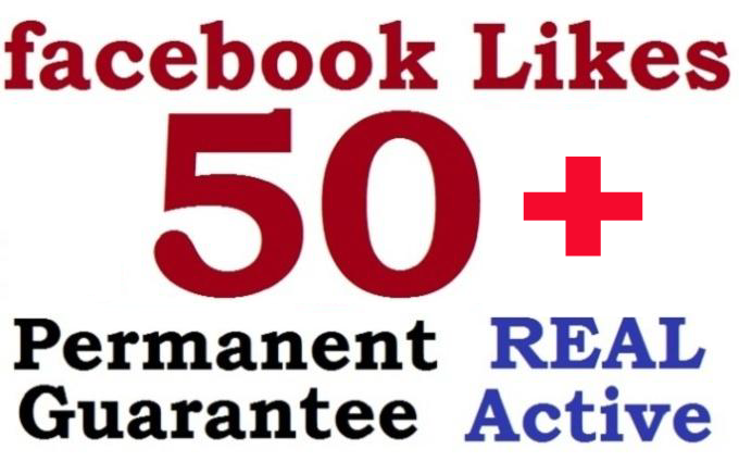 provide 50 Plus USA Facebook Like ONLY
