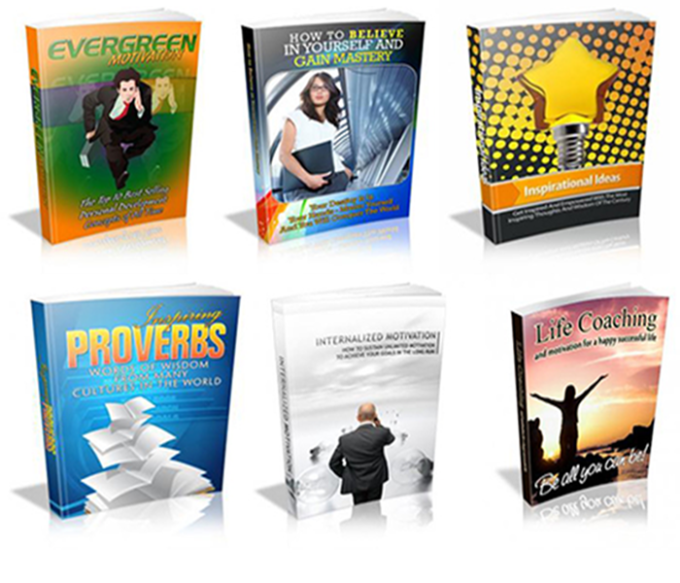 give you 20 inspiration and motivation ebooks