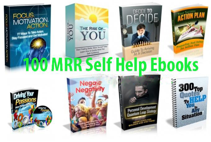 give you 100 self help ebooks