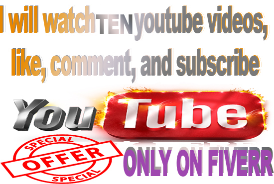 Watch Like And Comments And Subscribe 10 Youtube Video