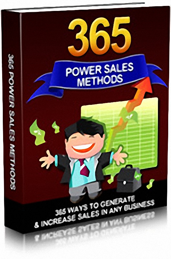 give you 365 Power Sales Methods