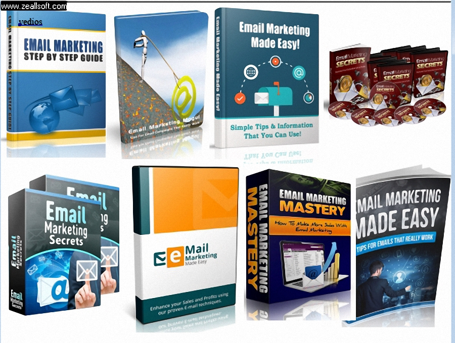 give you 50 Email Marketing ebooks and videos with  PLR
