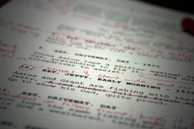 read your script or screenplay and give you detailed feedback