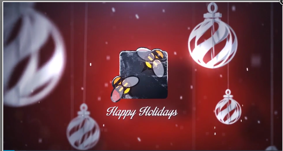 do profesional christmas logo intro. License included