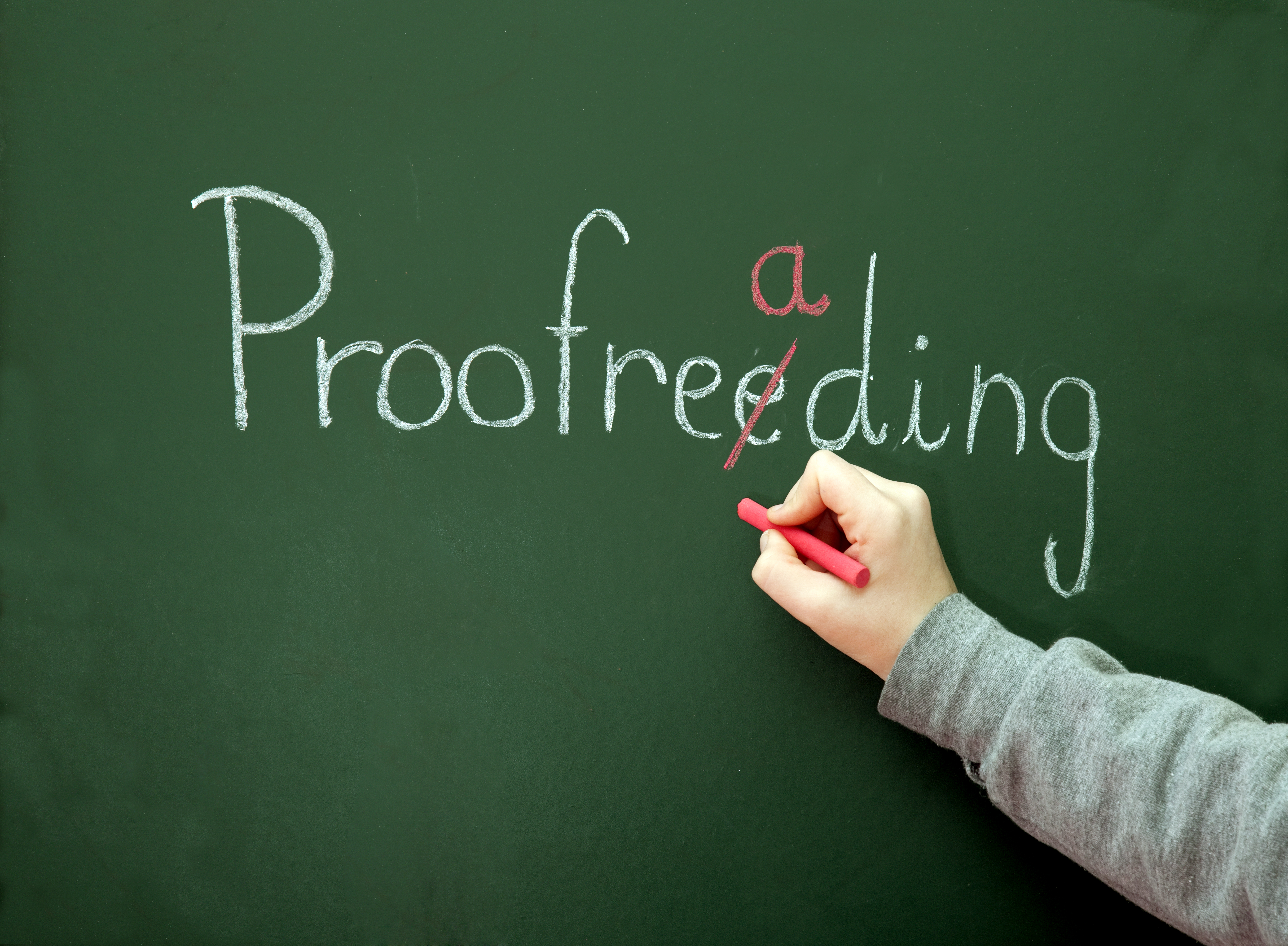 proofread and edit 500 words