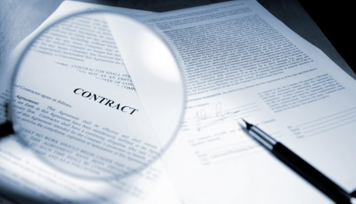 write PROFESSIONAL contract documents,Agreements and letters