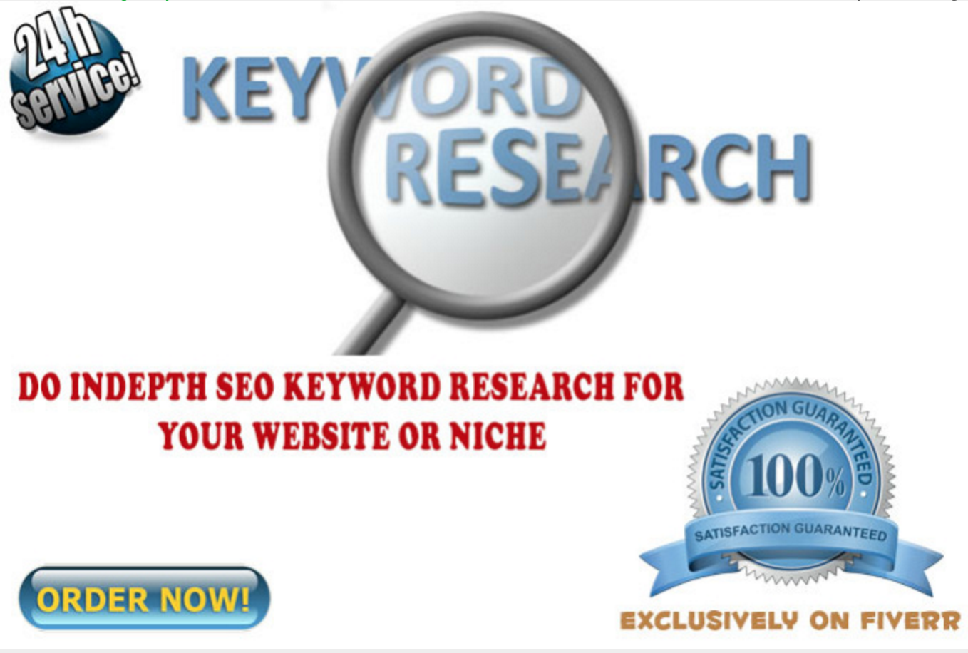 do Indepth SEO Keyword Research For Your Niche Website