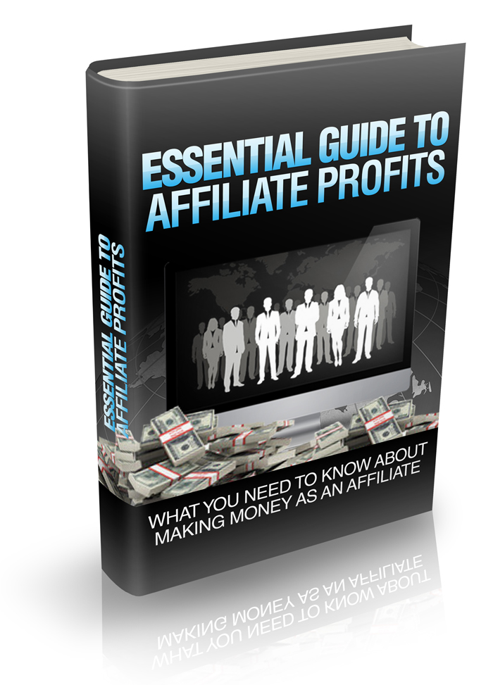 send you essential guide affiliate profits book with master resell rights
