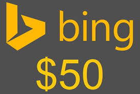 Bing Ad Coupon New Account worth $50