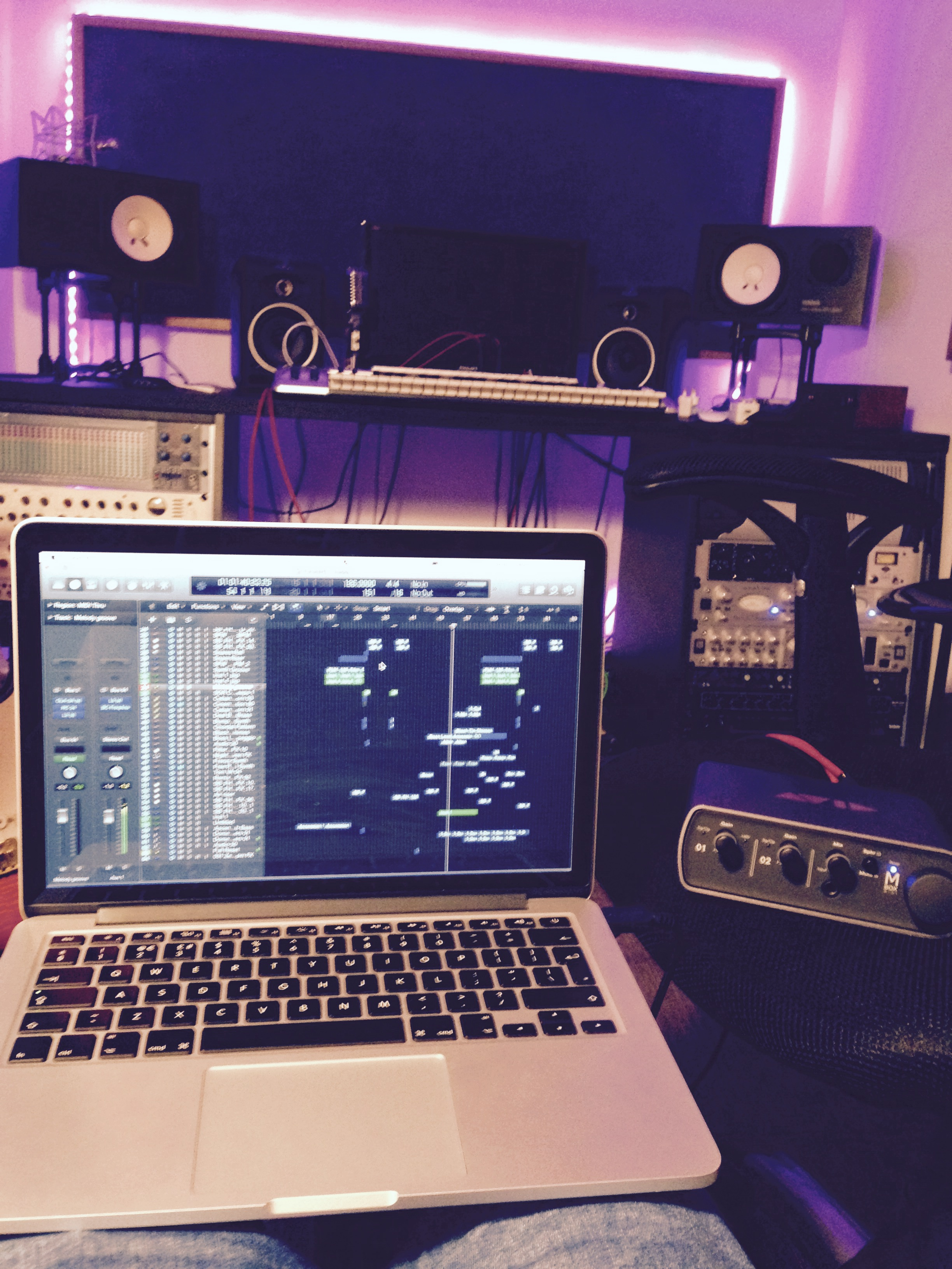 compose and produce EDM track