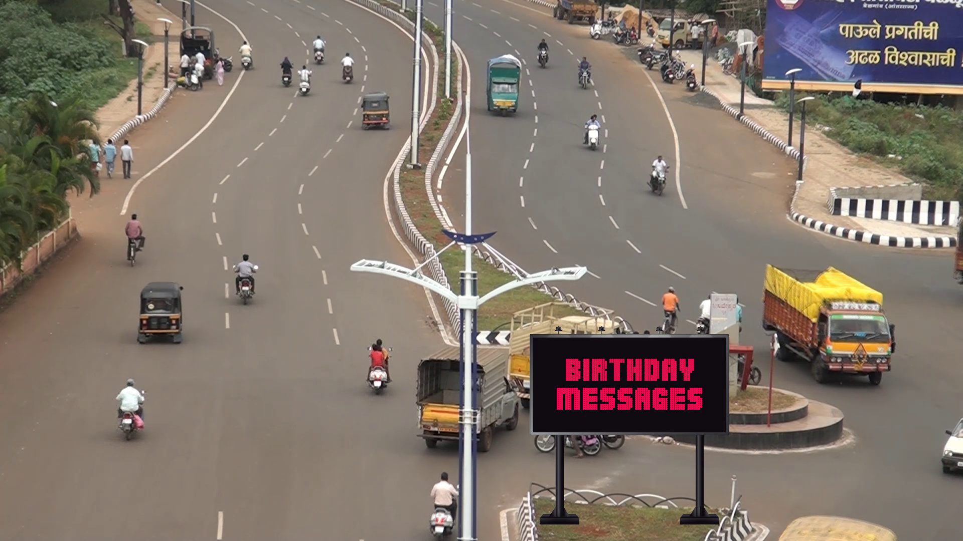 advertise your message on LED billboard in Belgaum India