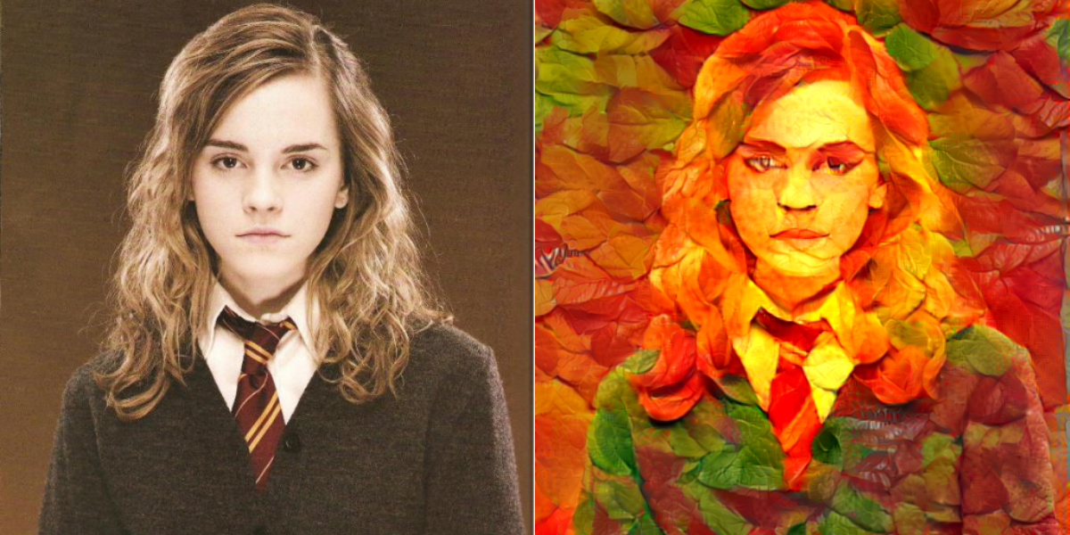 draw you in Autumn Leaves style