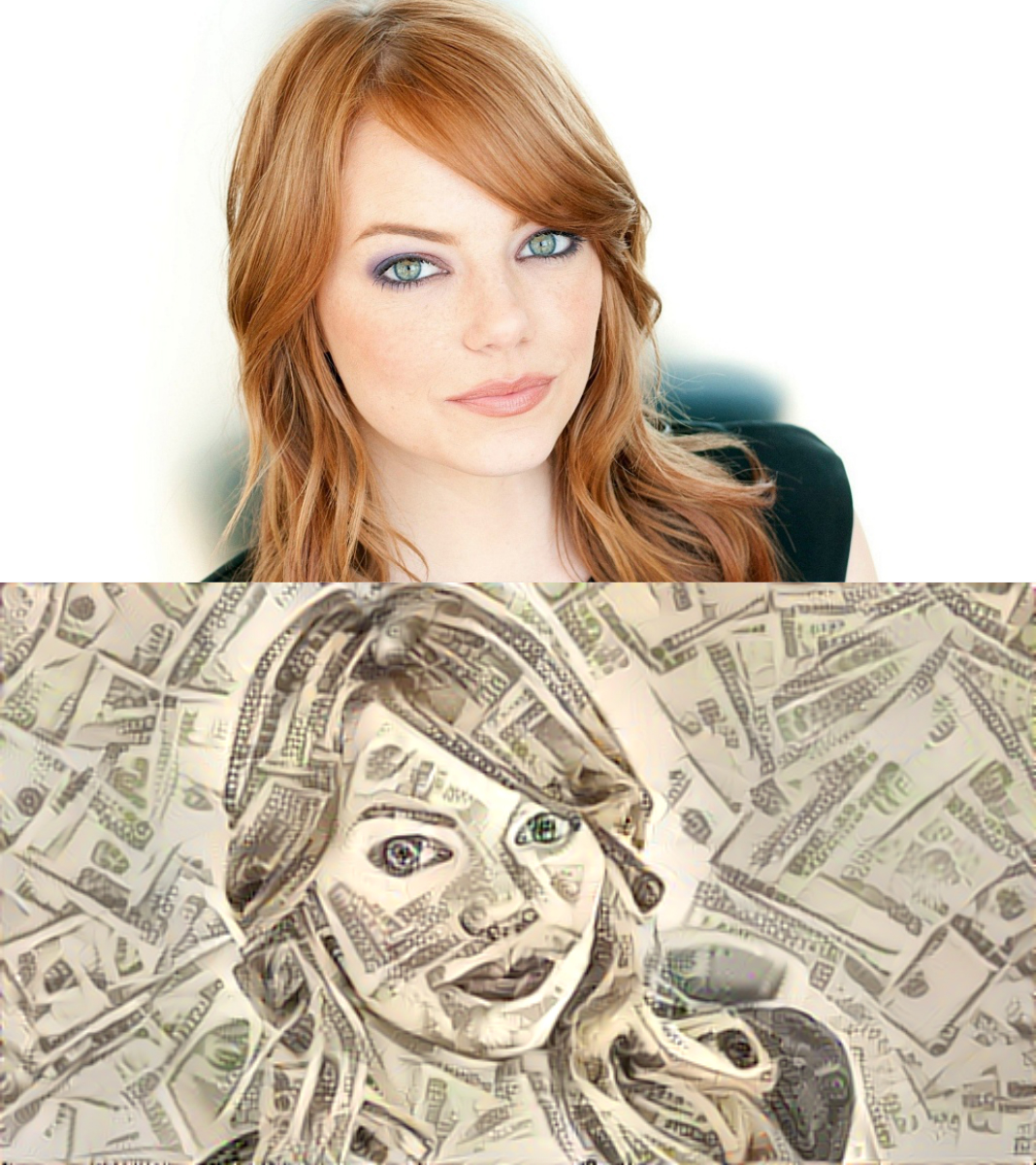 draw you in Dollar style