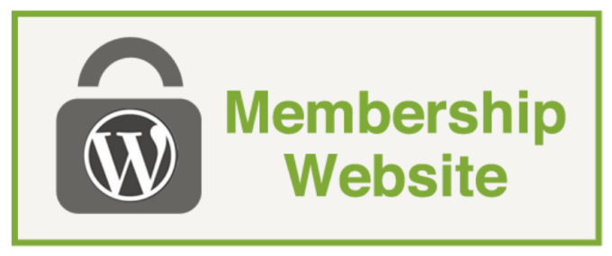 develop membership website fast