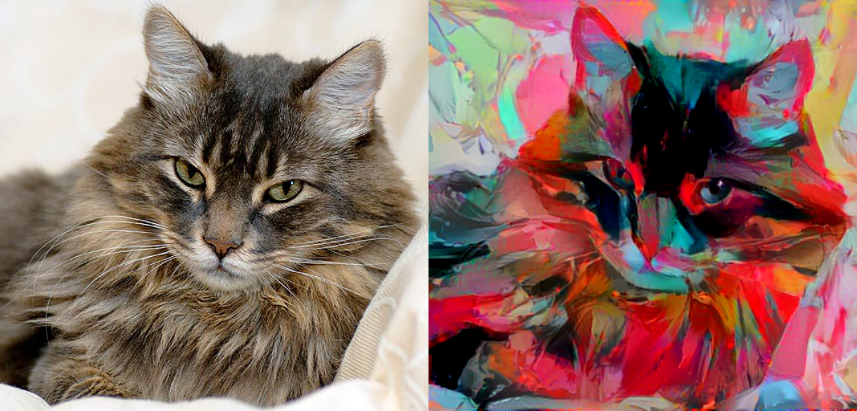 draw a beautiful oil portrait of your cat
