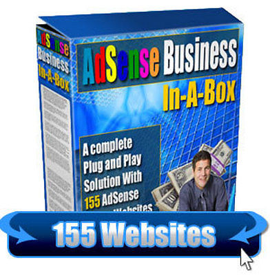 Give You 155 Optimized Uploaded And Ready, Adsense Websites Package With RESELL Rights
