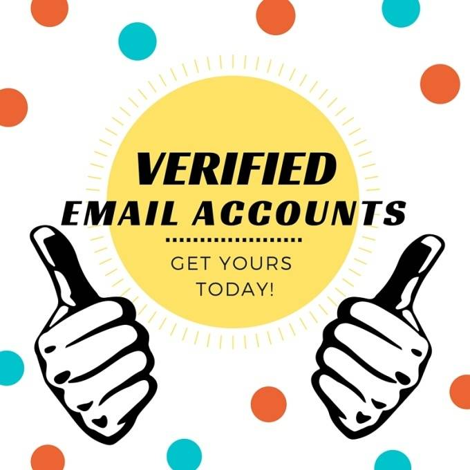 set 5 verified email account for you