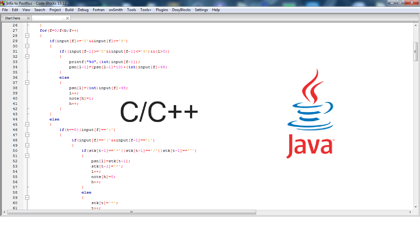 do your Java or C language assignment