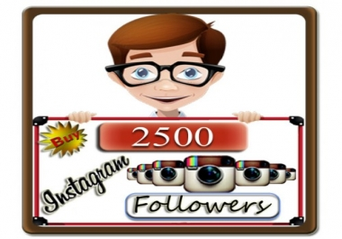 add 1500+ Instagram followers to your instagram account just