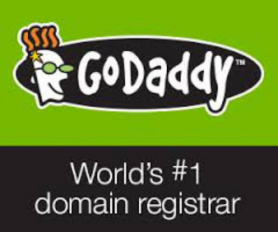 Give my services to register godaddy domain .com
