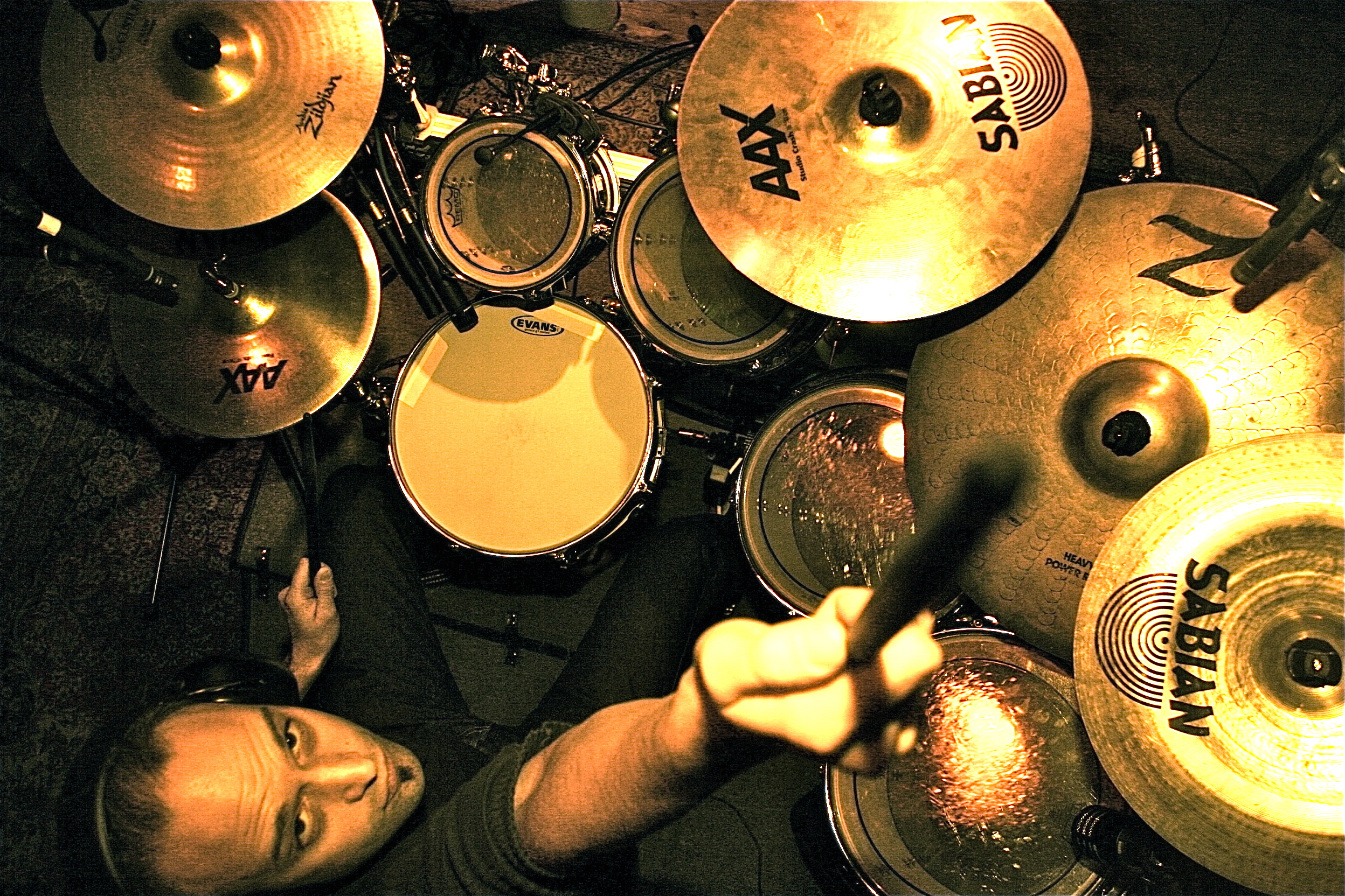play drums to your song