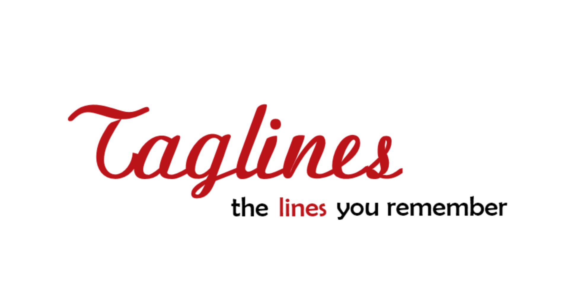 develop 6 PERFECT taglines or slogans for your Brand