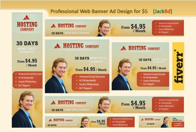 design your 10 professional web banner ads
