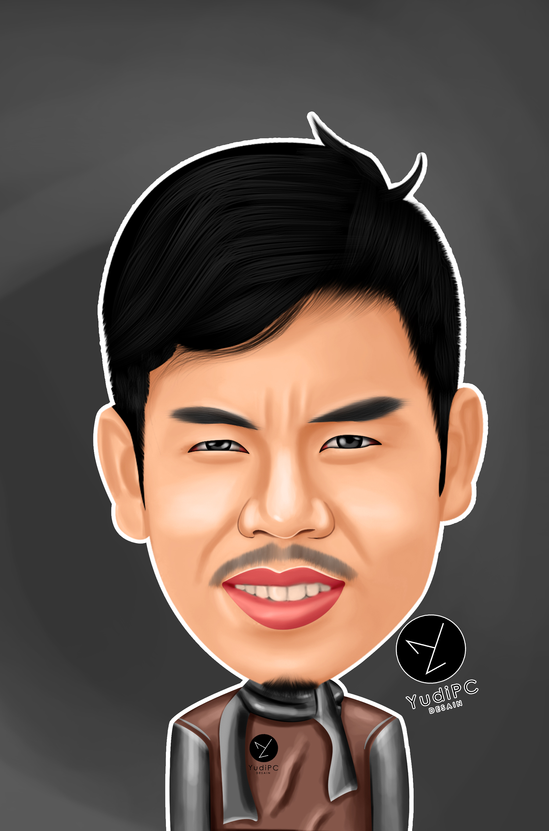 make your photo into digital caricature in my stlye