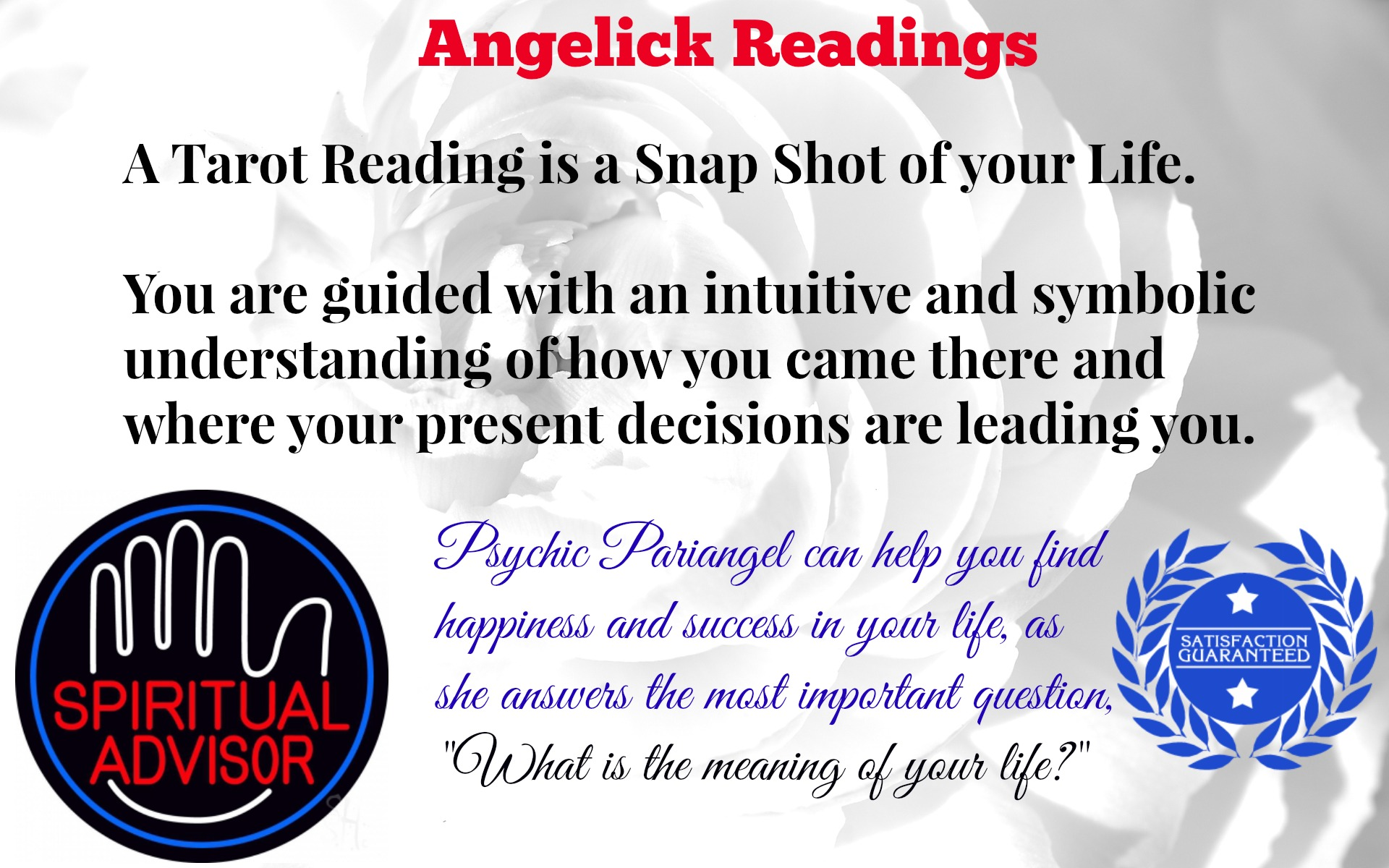give you a Past Life Karmic Reading with FREE Healing Session