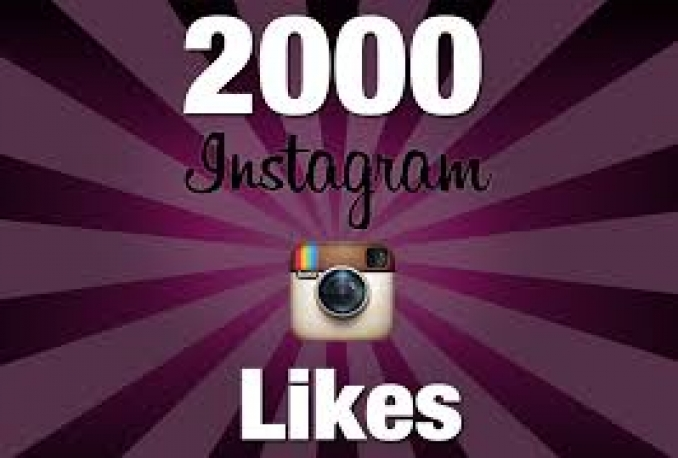 add 2,000 Instagram likes to any image or video