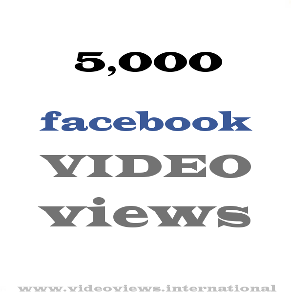 Add 10000 plus Facebook Video views