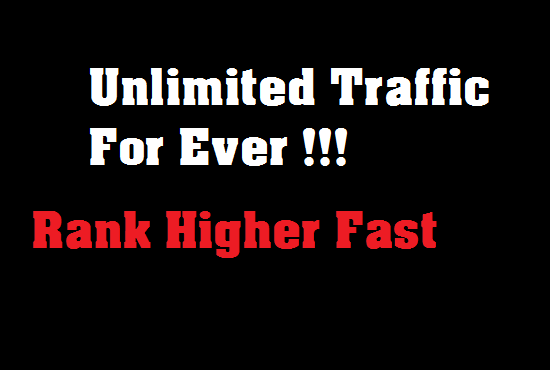 give you unlimited traffic