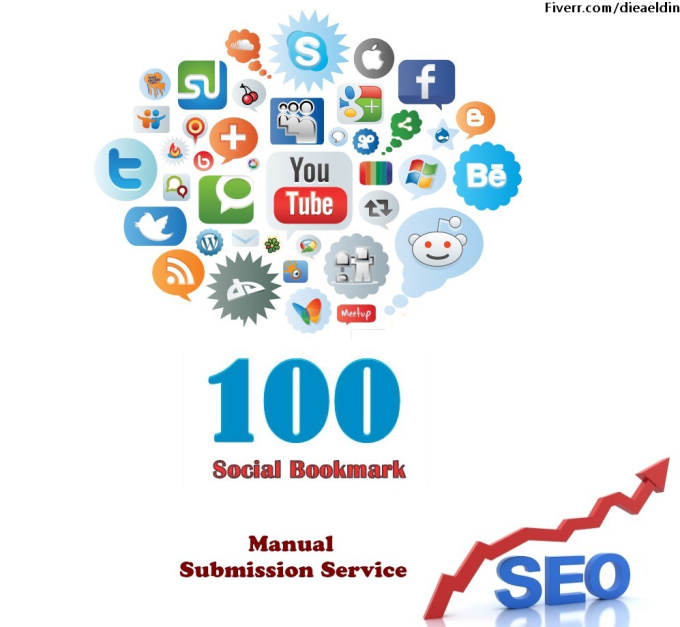 100 Manual Social Bookmarking Submissions PR 9 to 1