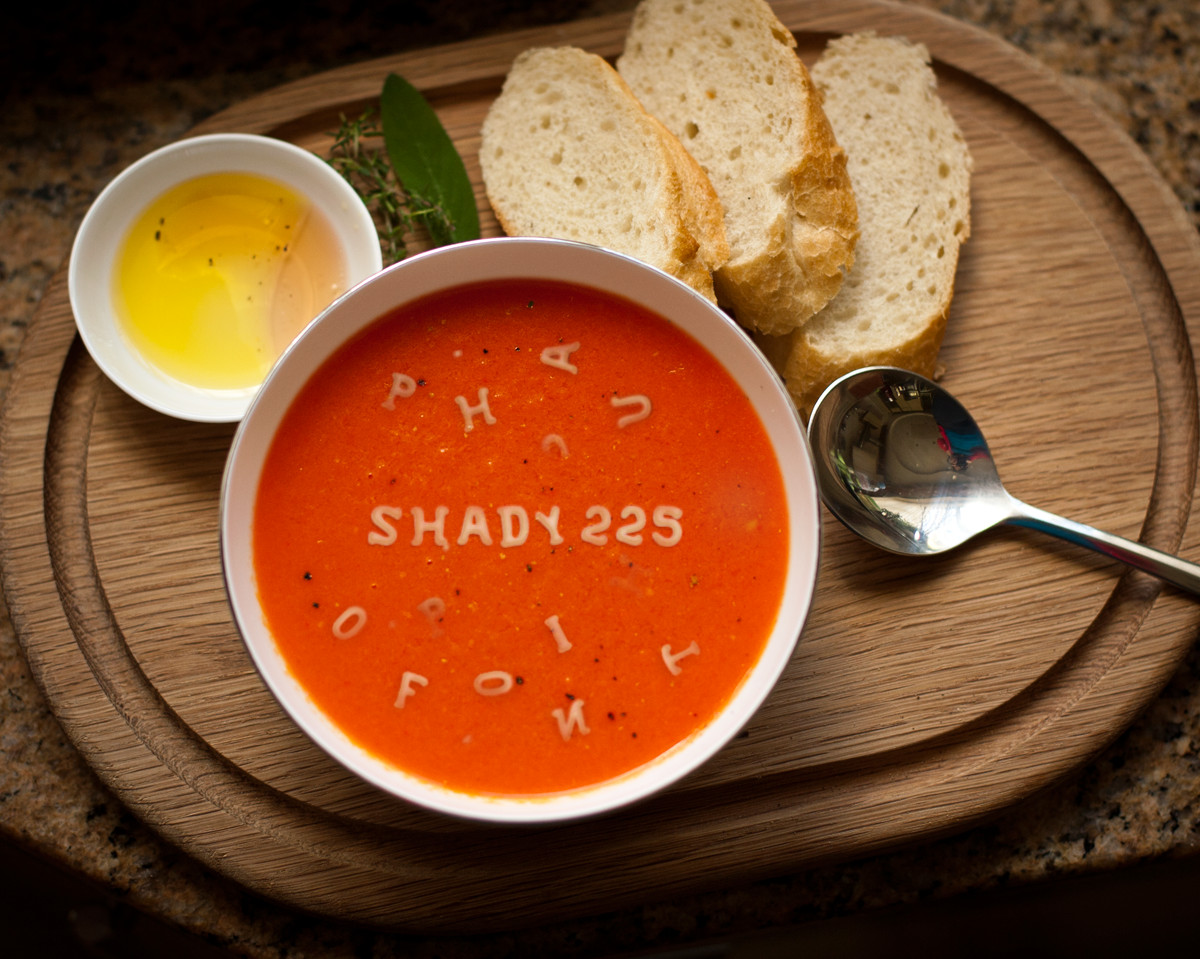 write your special Message with Soup