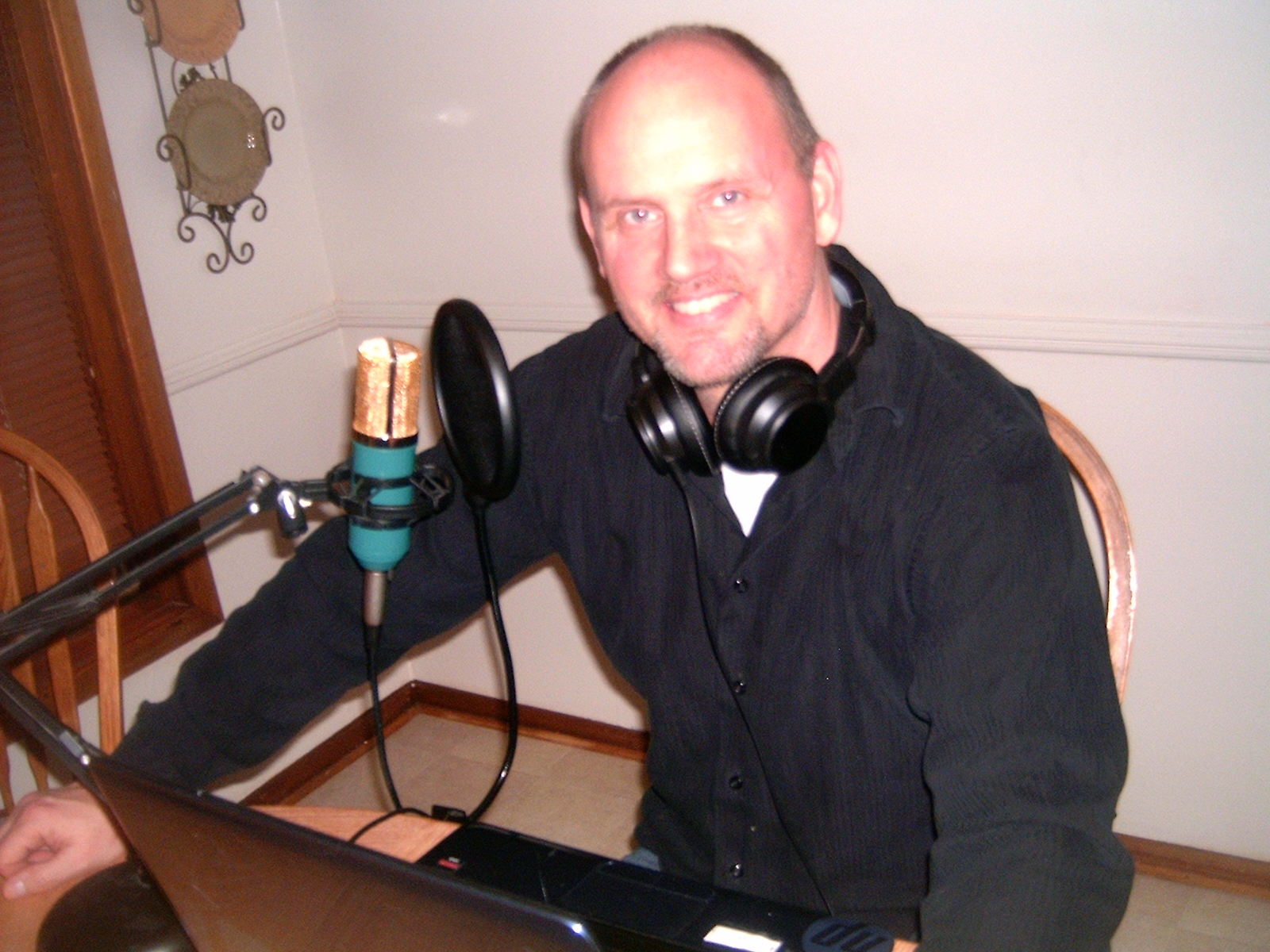 record and a quality American male voiceover
