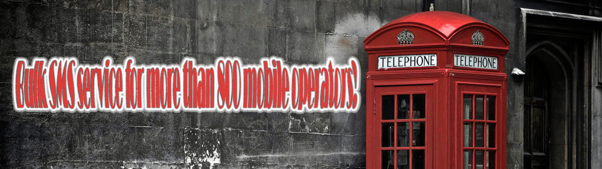 provide bulk SMS service to more than 800 mobile operators