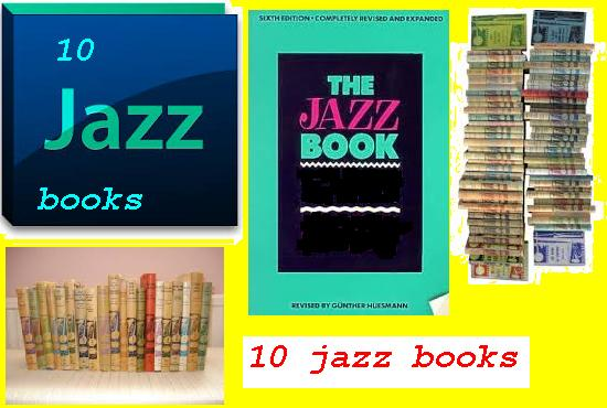 send 10 jazz books to learn how to improvise music