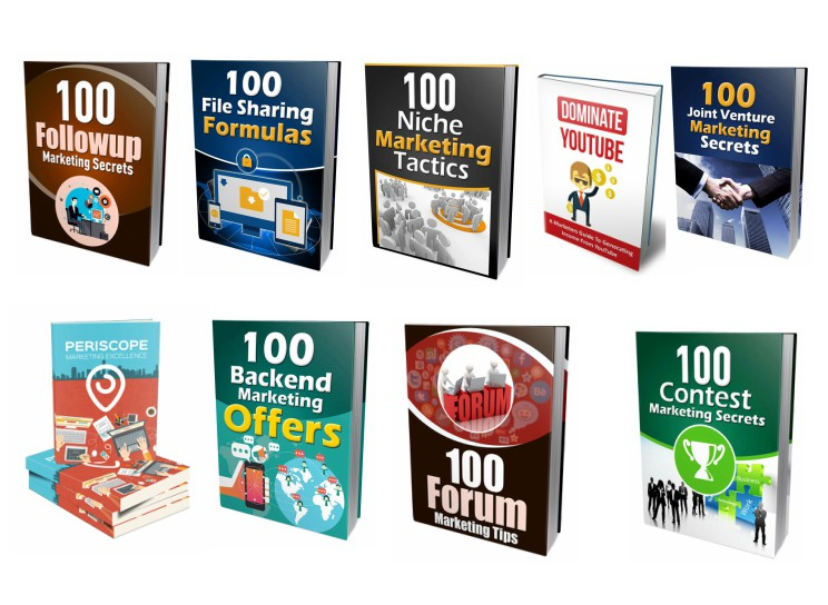 give you 9 of the best ebooks about marketing