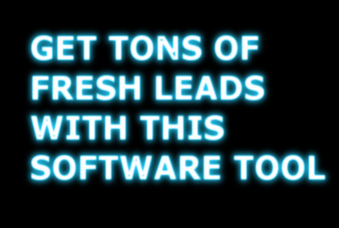 give u an Exclusive Marketing Software tool to get fresh leads