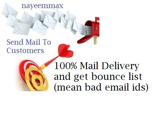 do bulk mailing 20,000 mails, and clear bounce list