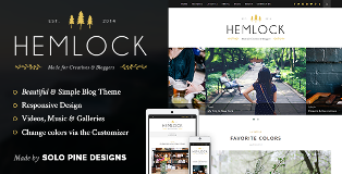 Hemlock v1.5.2 WordPress Theme Download Free Nulled