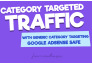 drive CATEGORY traffic to your website