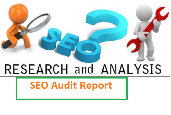 make SEO Audit Report of your website